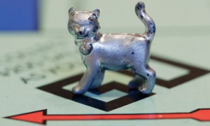 The newest Monopoly token, a cat